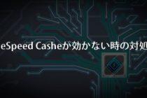 LiteSpeed Casheが効かない時の対処法