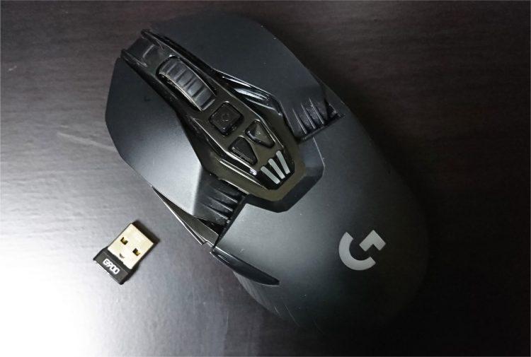 Logicool G900とUSBレシーバー